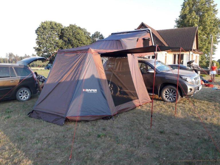 auto jumta telts out