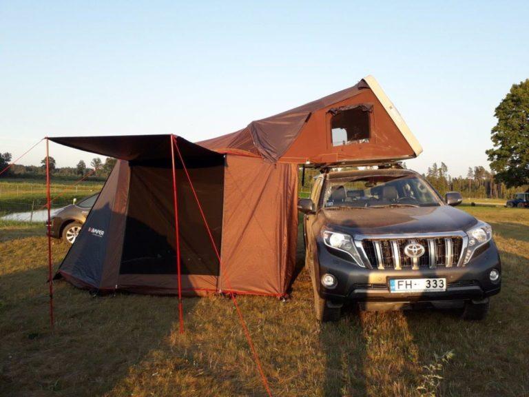auto jumta telts lv